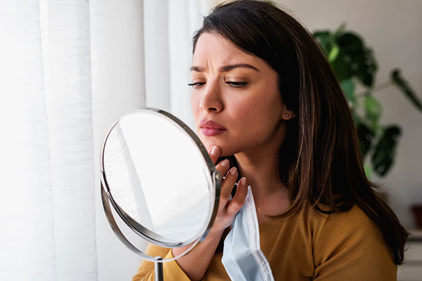 Gesichtsbehandlung SOS Hautklar